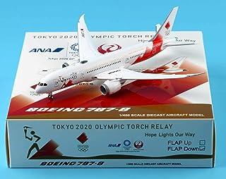 JC Wings 1:400 EW4788003A ANA 全日空航空機 飛行機 ボーイング Boeing 787-8 ダイキャスト航空機モデルフ ラップ Reg#JA837J