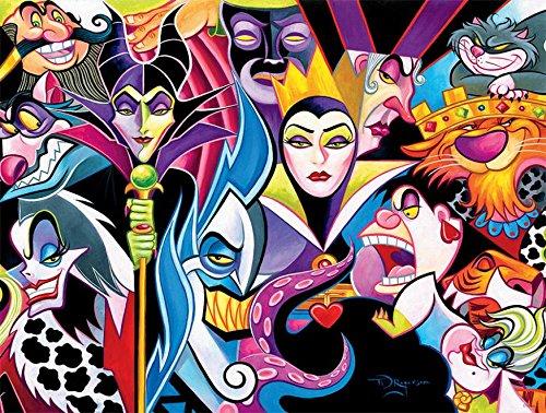 Ceaco Disney Villains Jigsaw Puzzle, 1500 Pieces