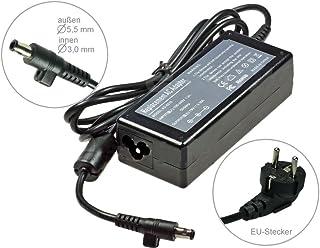 60W 19V Cargador AC Adaptador para Samsung VM6000SF510SF311SF310S08S07X05Q35QX410Q30NP-R51NP-R50Q330NP-R40NP-R39, con cable de alimentación
