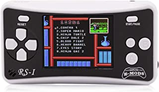 E-MODS GAMING RS-1 Portable Retro Games Player, Handheld Console Built-in 162 Games for Kids Gift