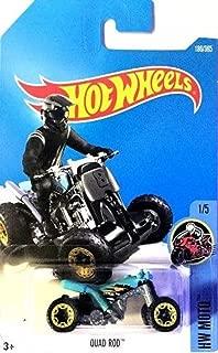 Hot Wheels 2017 HW Moto Quad Rod (ATV) 186/365, Turquoise