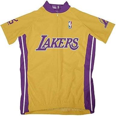 Amazon.com : NBA Los Angeles Lakers Women's Short Sleeve Cycling ...