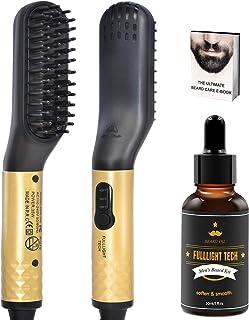 Cepillo Alisador de Barba,Peine Alisador Barba Hombre con