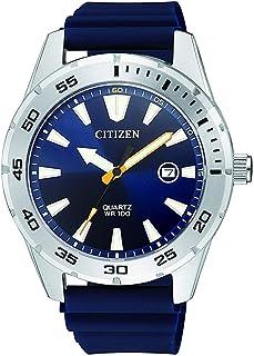 ساعة تناظرية كاجوال سيتيزن للرجال مصنوعة من البولي يوريثان - بي آي 1041-22 ال