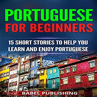 Portuguese for Beginners audiobook cover art
