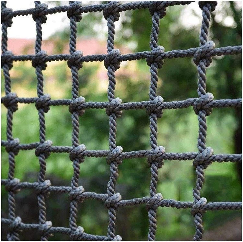 落下防止ネット建物の安全ネットトレーニング開発保護ネット階段バルコニー保護ネットホームフェンスアンチキャットネット幼稚園クライミングロープネット(18mm / 20cm) (Color : 18mm/20cm, Size : 1*7m/3.3*22.97ft)