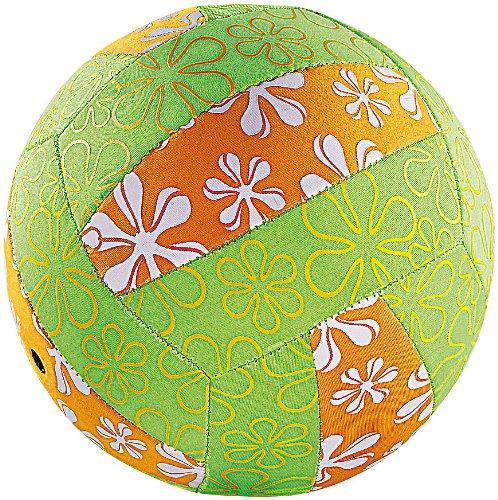 PEARL Beachvolleyball: Wasserfester Beach-Volleyball mit Neopren-Überzug (Strand-Sport-Ball)