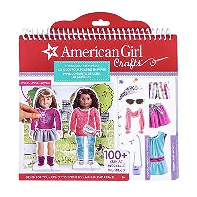American Girl Paper Doll Fashion Stylist Set