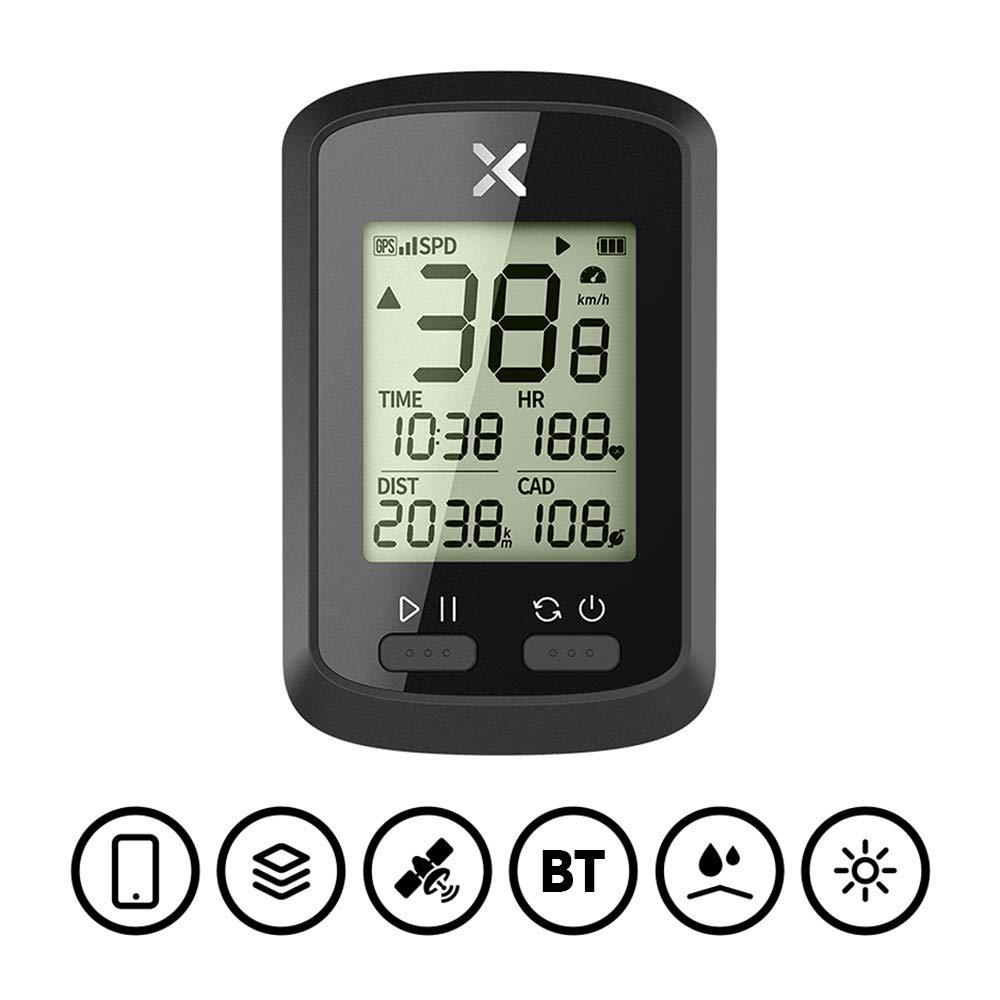 Lixada Computadora de Ciclismo Tabla de Códigos de Bicicleta GPS ...
