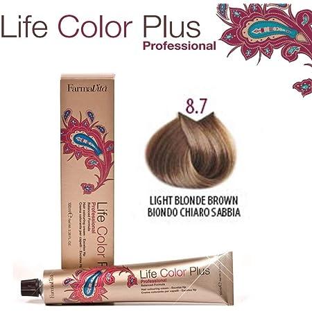 Farmavita Life Color Plus Tinte Capilar 8.03-90 ml: Amazon.es ...