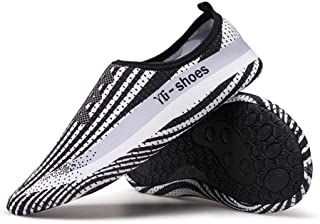 Casual Flat Trainers Yoga Shoes Snorkeling Shoes for Men and Women (Color : White, Size : 8.5/9 UK)
