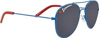 AFB - Gafas de sol de aviador azul Superman