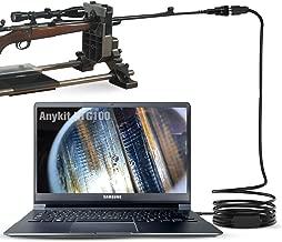 Anykit Rifle Borescope, USB Digital Short Focus Gun Barrel Scope Videoscope Inspection Camera with 5mm Diameter and 39
