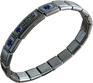 pulmonary embolism awareness bracelets