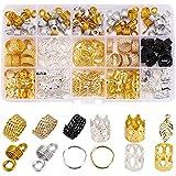 200 PCS Loc Hair Jewelry for Women Braids,...