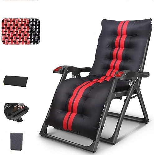 Chaise de Camping Chaise d'extérieur, Chaise Pliante Ultra légère portative avec Porte-gobelet et Housse de Prougeection, pour Jardin Camping Voyage pêche randonnée - Noir