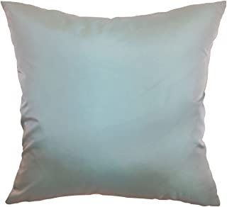 The Pillow Collection Quinta Solid Bedding Sham Aqua King/20