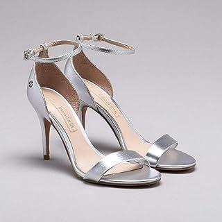 716379137a Moda - Prata - Sandálias   Calçados na Amazon.com.br