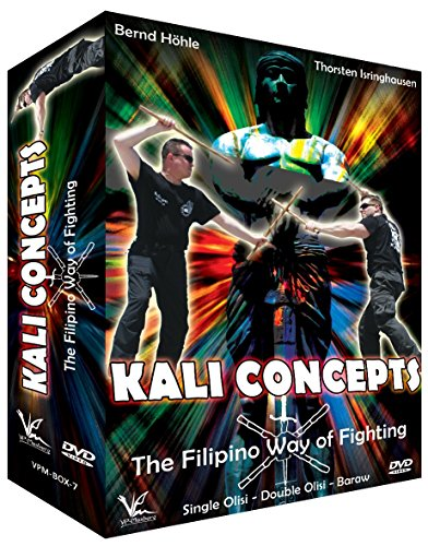 3 DVD Box Collection Kali Concepts - The Filipino Way of Fighting