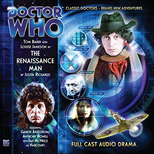 Doctor Who - The Renaissance Man audiobook cover art