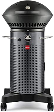 Fuego F21C-H Element Hinged Propane Gas Grill, Dark Gray