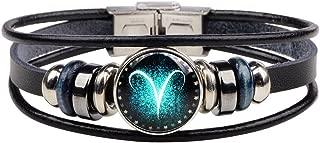aries leather bracelet
