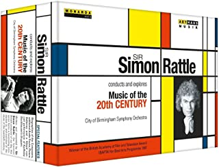 Sir Simon Rattle conducts & explores Music of The 20th Century