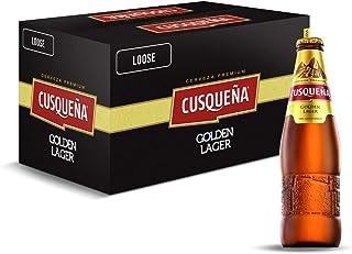 Cerveza Cusqueña Golden Lager - 24 botellas 330 ml - 7920 ml
