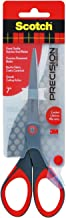 Scotch Precision Scissors 7 inches (17.8cm) 1447, Grey/Red