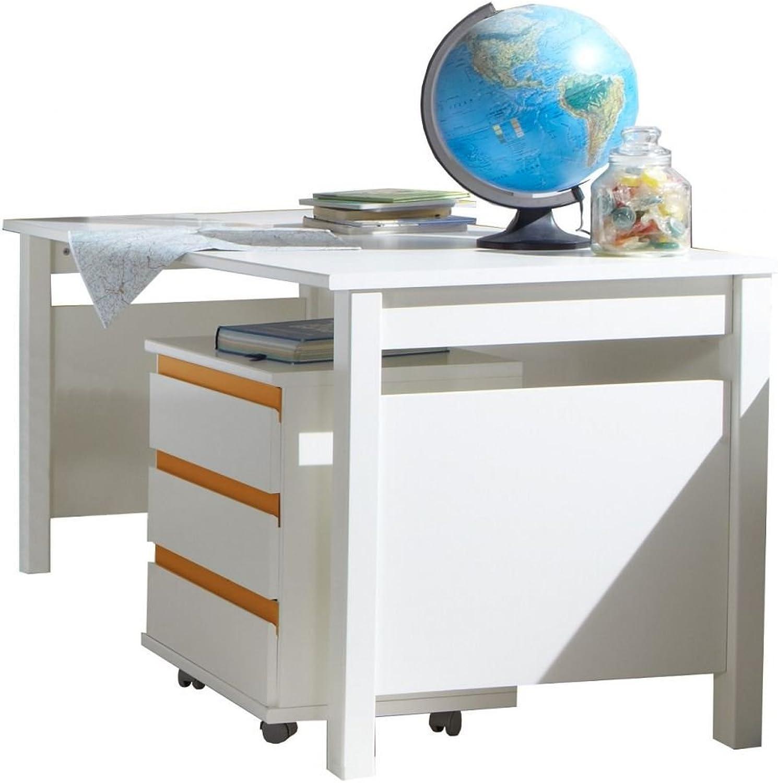 Beauty.Scouts Schreibtisch  Smart Donkey , Kinderschreibtisch, Tisch, Arbeitsplatz, Hausaufgaben, Jugendzimmer, Arbeitsplatz Mbel, Arbeitszimmer, Alpinwei, 140x72x70 cm