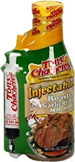 Tony Chachere's Marinade Roasted Garlic & Herb w/ Injector, 17-Ounce (Pack of 3)
