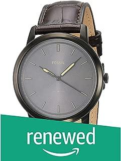 (Renewed) Fossil Analog Grey Dial Men's Watch-FS5573
