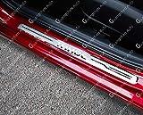 YGAODWQ - Protector de umbral de puerta de acero para Chevrolet Chevy Tahoe, 4 piezas