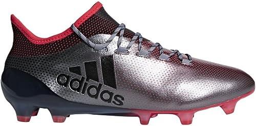 Adidas X 17.1, Zapaños de Fútbol Americaño para Hombre, negro, Coral, gris, 40 2 3 EU