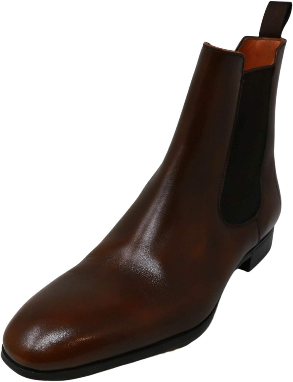 Santoni Women's Luna Mid-Calf Leather Boot