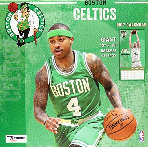 "Turner Licensing Sport 2017 Boston Celtics Team Wall Calendar, 12""X12"" (17998011870)"