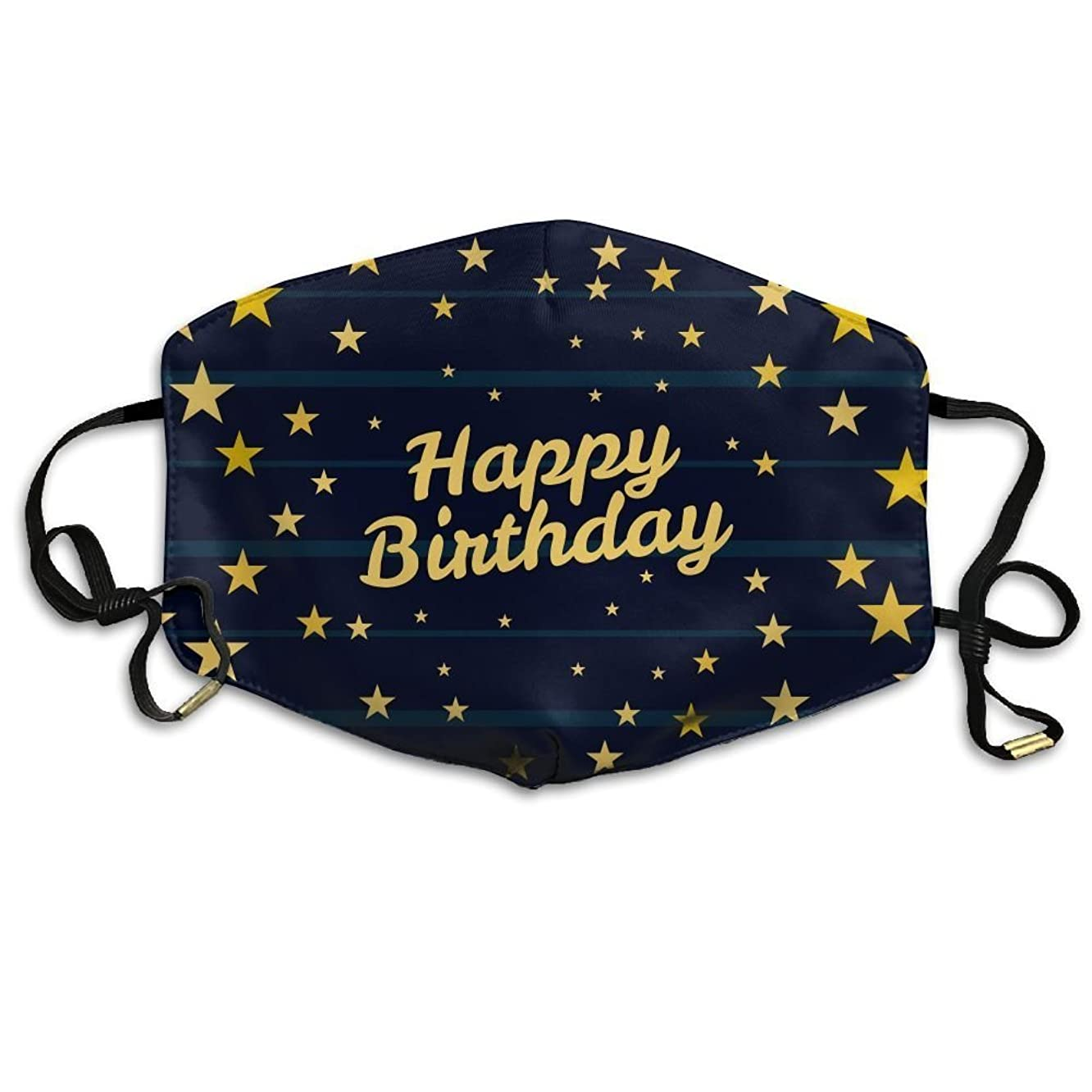 Happy Birthday Face Mask Best Comfortable,Reusable - Filters Dust,Pollen,Allergens, Flu Germs Dust Mask