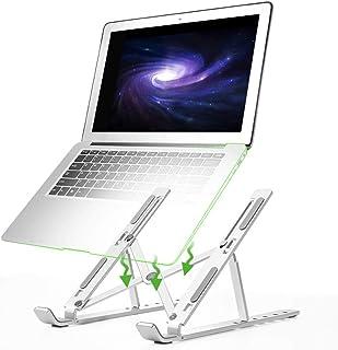 Laptop Stand - Adjustable Laptop Stand Portable Foldable Ergonomic Desktop Stand Holder Mount for MacBook Notebook Compute...