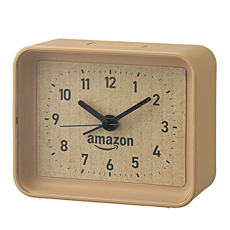 惨めな固執使用法【Amazon.co.jp限定】リズム時計 段ボール風目覚まし時計 4SE555AZ06