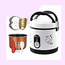 Rijstkoker Stoomstoomboot (1.2L-200W) Huishoudelijke Mini Rijstkoker, Automatische warmtebehoud, voor 1-2 personen (Kleur: A)