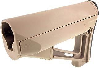 SP製 046T 電動ガン ガスブローバックライフル M4 M16用 スライドストック ブッシュマスターストック プラスチック製 - ダークアース【SportPro クリーニングクロス付】