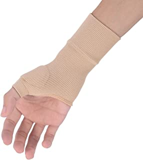 1 Pair Therapy Gloves Therapy Gloves Gel Filled Thumb Hand Wrist Support Arthritis Compression