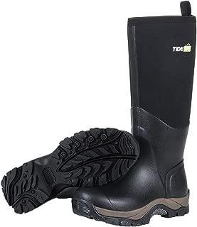 Rubber Neoprene Boots Men and Women, Waterproof Durable Insulated Neoprene Boot, Rain Boot Hunting Boot Arctic Outdoor Boot