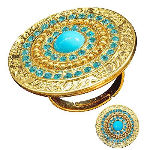 Widmann 7521H Ring Cleopatra, Mehrfarbig