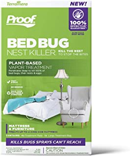 Proof Bed Bug Nest Killer (Vapor Treatment, Large)