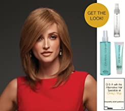 GET THE LOOK - Jon Renau Jennifer Exclusive Remy Human Hair Wig, 15 Page Christy's Wigs Q & A, Heat Treat Thermal Spray, Boho Beach Mist & Blown Away -Color B8/30/14/26RO