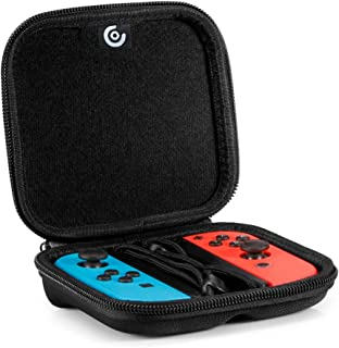 Nintendo Switch Storage Joy-Con Hard Case, Protective Carrying bag for NS Joy-Con (L/R).Black
