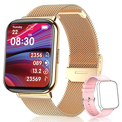 TagoBee Smartwatch Mujer,IP68 Impermeable con 1.69