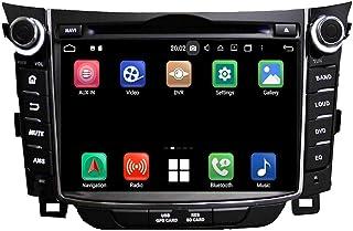 7 Inch TouchscreenAndroid 10.0 OS Car Radio Compatible with Hyundai Elantra GT/I30(2011-2018), 4GB RAM+64GB ROM, DVD Playe...
