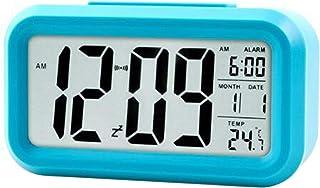 Electronic Alarm Clock Intelligent Temperature Clock Perpetual Calendar Table Clock